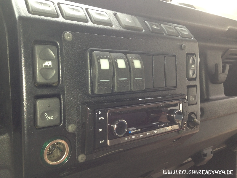 land rover defender t5 fascia plate rough and ready 4 4. Black Bedroom Furniture Sets. Home Design Ideas