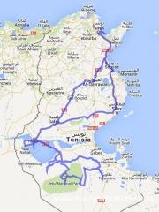 Tunesien_14-15_Route